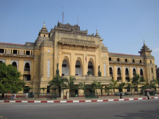 Yangon Rathaus