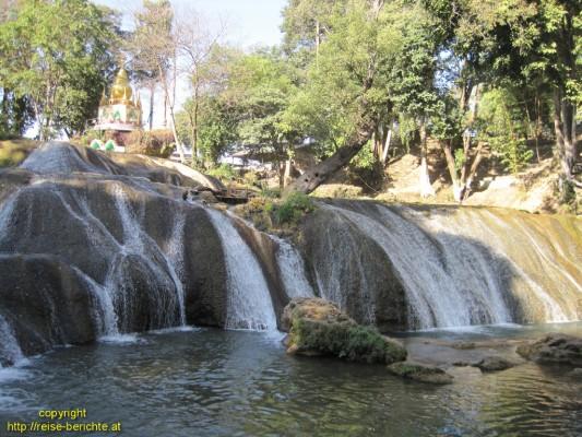 Pwe Kauk Wasserfall