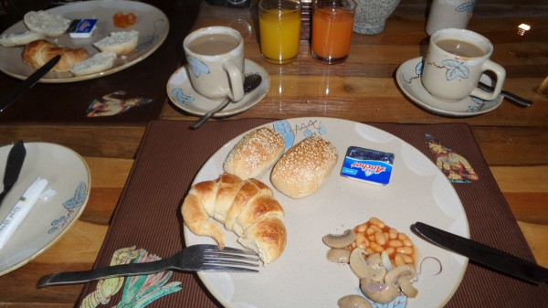 Frühstück im Royal Retreat Hotel