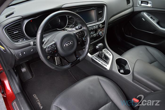 2014 Kia Optima SX Turbo Review Web2Carz