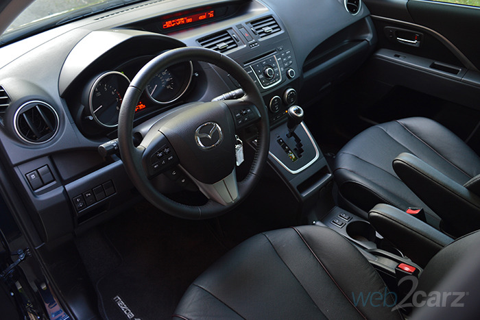 2014 Mazda Mazda5 Grand Touring Review Web2Carz