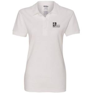 FBS Logo - White Sport Shirt (Women's)
