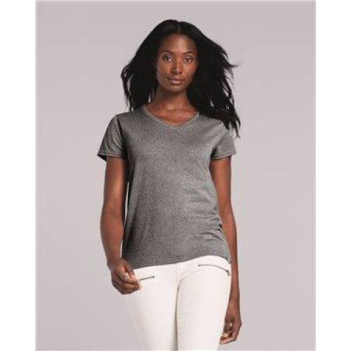 Heavy Cotton Women's V-Neck T-Shirt
