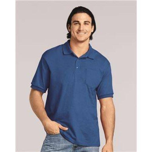 DryBlend® Jersey Sport Shirt with Pocket