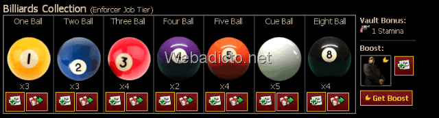 Billiard-Balls-Collection