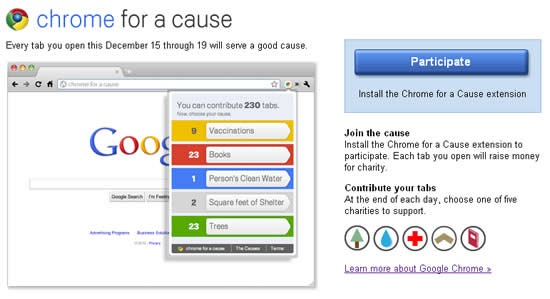 chrome-for-a-cause