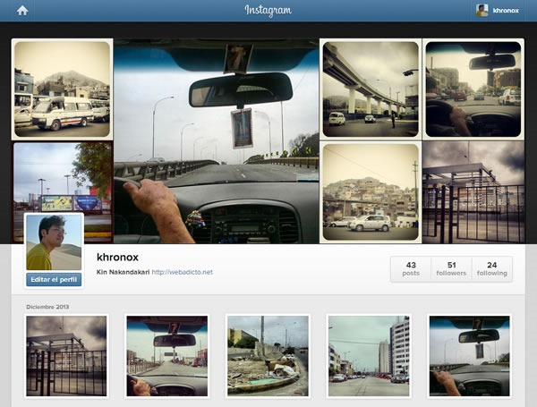como compartir images privadas por instagram
