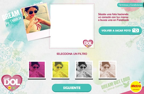 concurso dream out loud metro gana outfit app 1