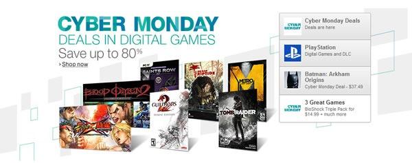 cyber monday amazon 2013 seleccion de ofertas en videojuegos