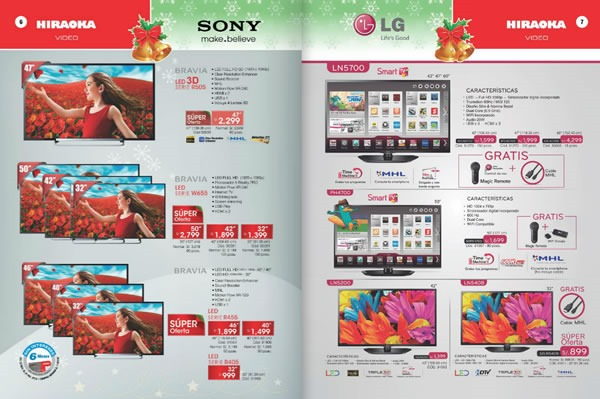 hiraoka guia de compras navidad 2013 peru ofertas
