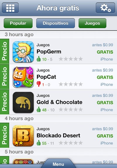 juegos-gratis-ipad-iphone-ipod-appzapp-lista