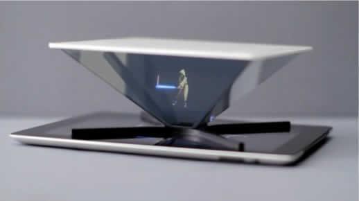 mira hologramas en tu smartphone o tablet con holho