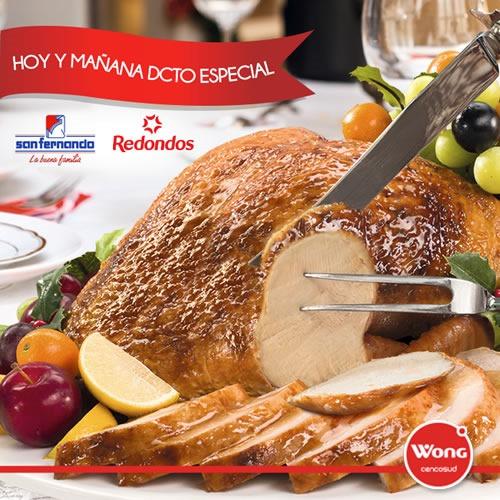 oferta pavo san fernando redondos diciembre 2013