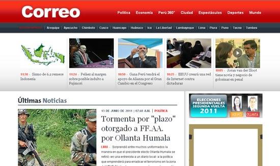 periodicos-peruanos-online-correo