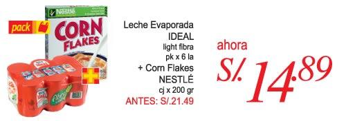 plaza-vea-oferta-marzo-2011-leche-evaporada-corn-flakes
