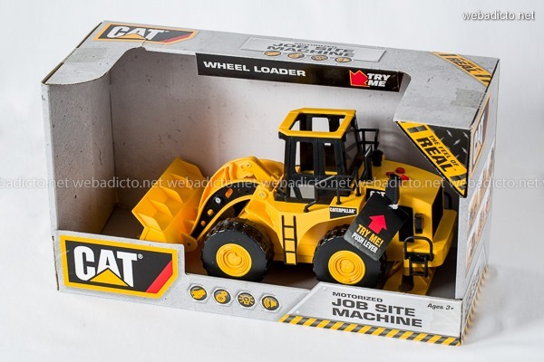 review Caterpillar Construction Job Site Machines-9753