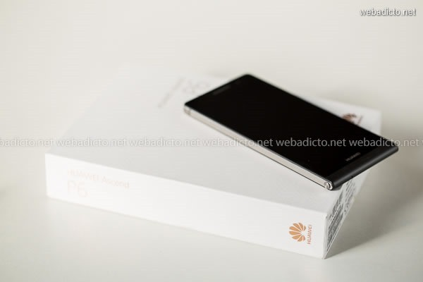 review huawei ascend p6-8856