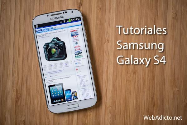 tutoriales samsung galaxy s4