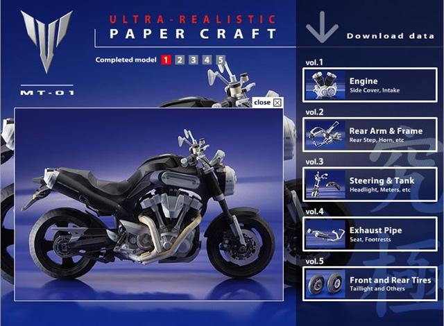 yamaha-papercraft