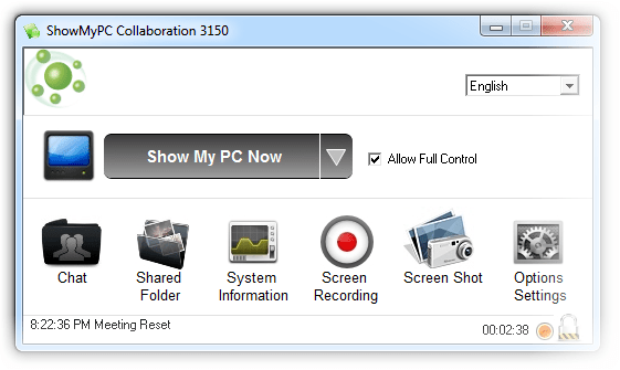 how to use show my pc software