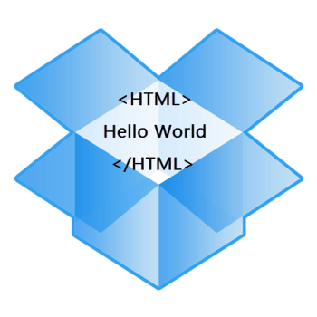 Host Website on Dropbox