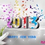 Download Happy New Year 2013 Wallpaper for Desktop, iPad, Mobile