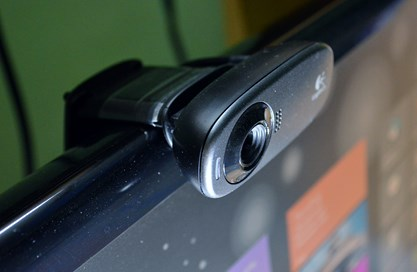 Logitech HD Webcam C310 rear view