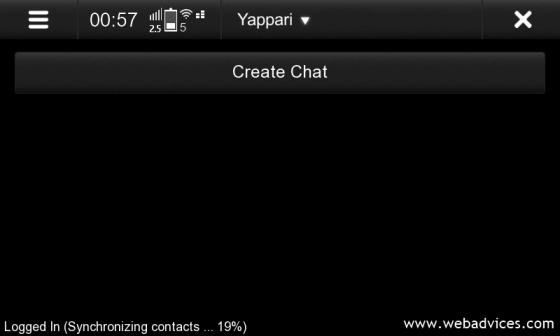 Start WhatsApp chat Yappari