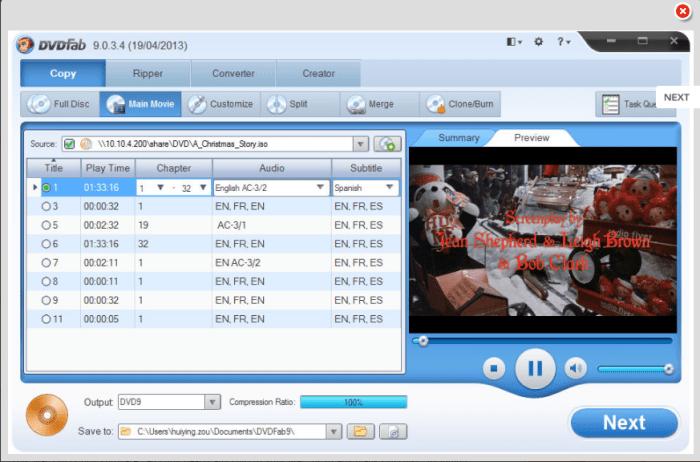 DVDFab DVD Copy for Mac