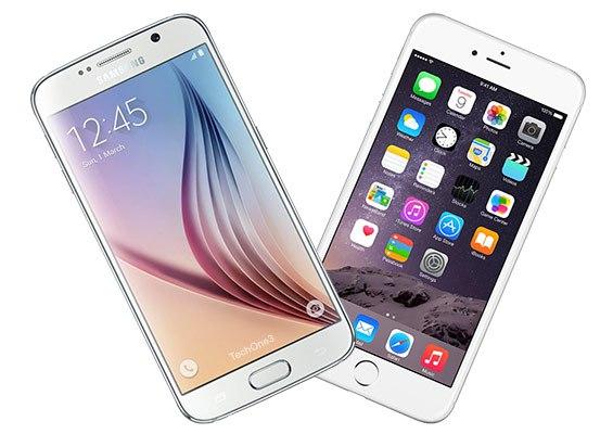 Galaxy S6 vs iPhone 6