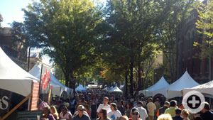 Fall for Greenville, Main Street, downtown Greenville, SC