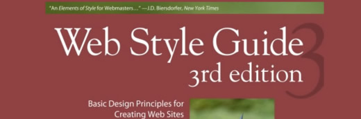 Web Style Guide: Basic Design Principles for Creating Web Sites - 3rd Edition