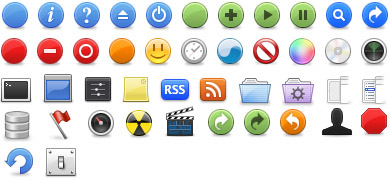 Matt Ball Toolbar Icons