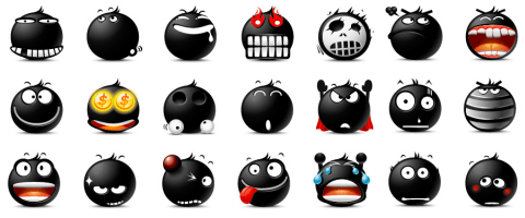 The Blacy Emoticons