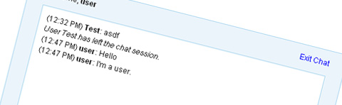 jQuery Chat