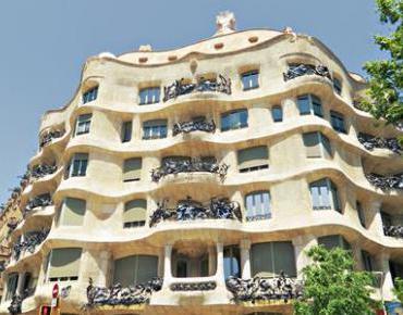 View The Full Image Casa Mila La Pedrera Antoni Gaudí