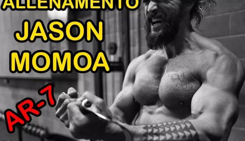 allenamento di Jason Momoa