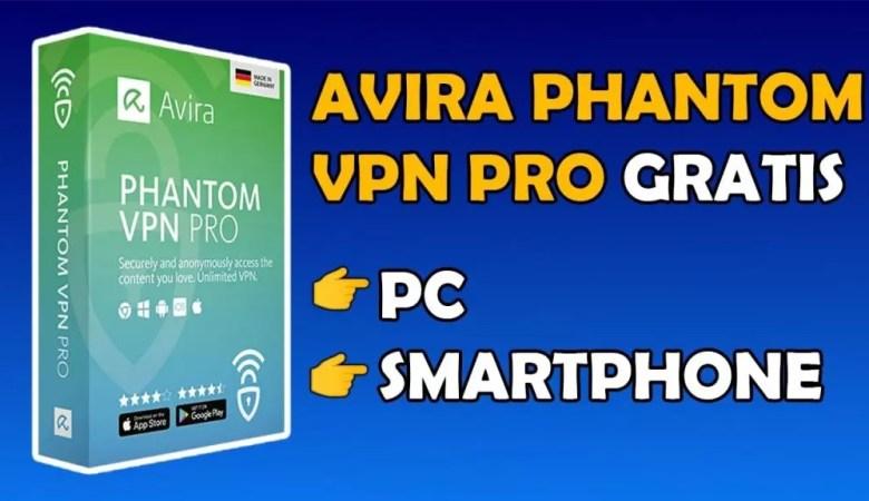 AVIRA PHANTOM VPN PRO GRATIS