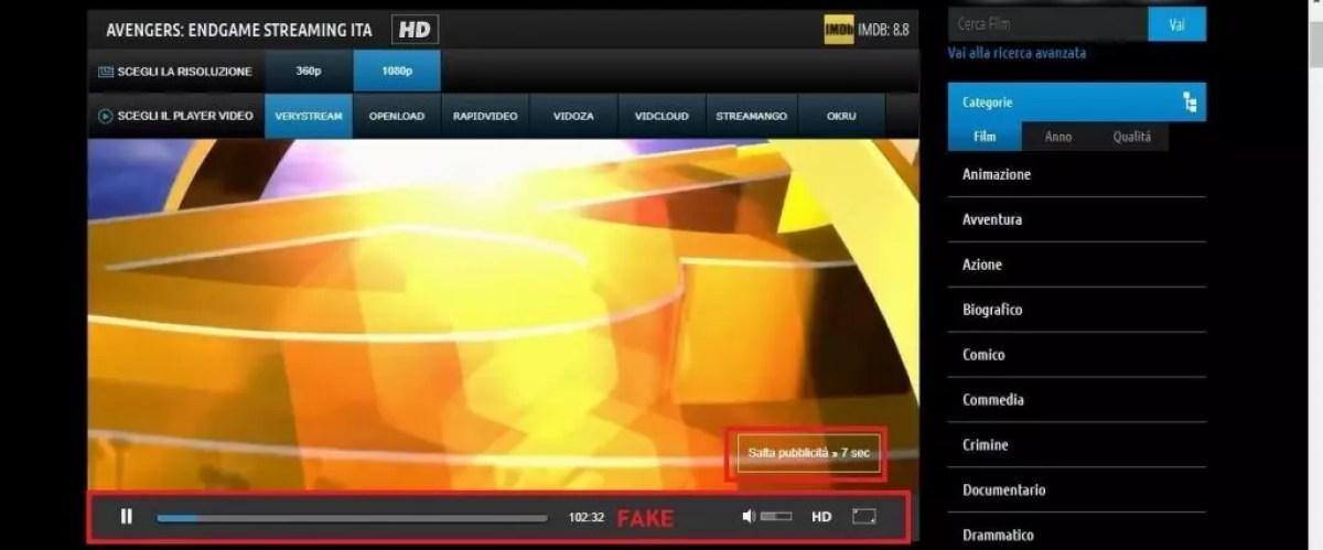 Come guardare film in Streaming gratis e senza registrazione