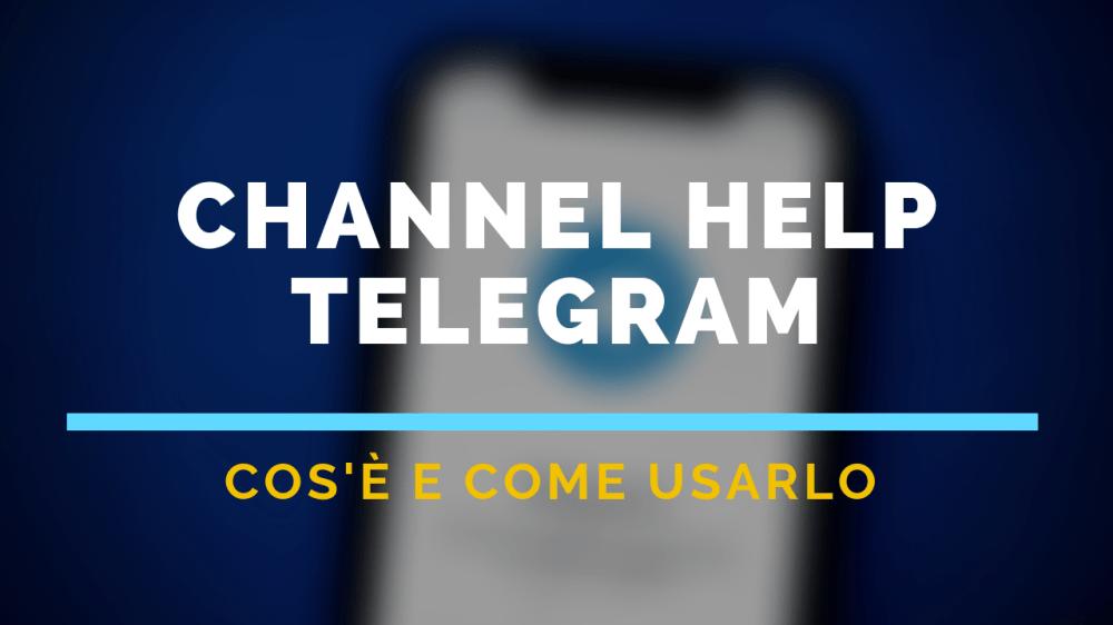 Channel Help Telegram