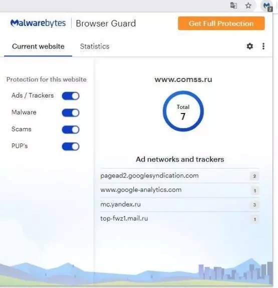 Malwarebytes Browser Guard