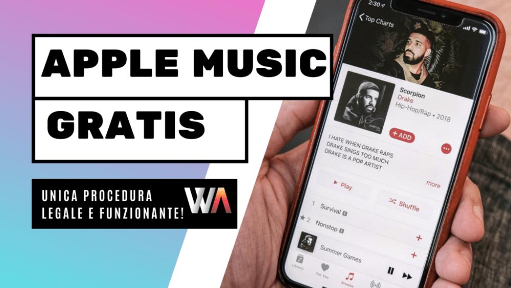 Apple Music Gratis per Sempre