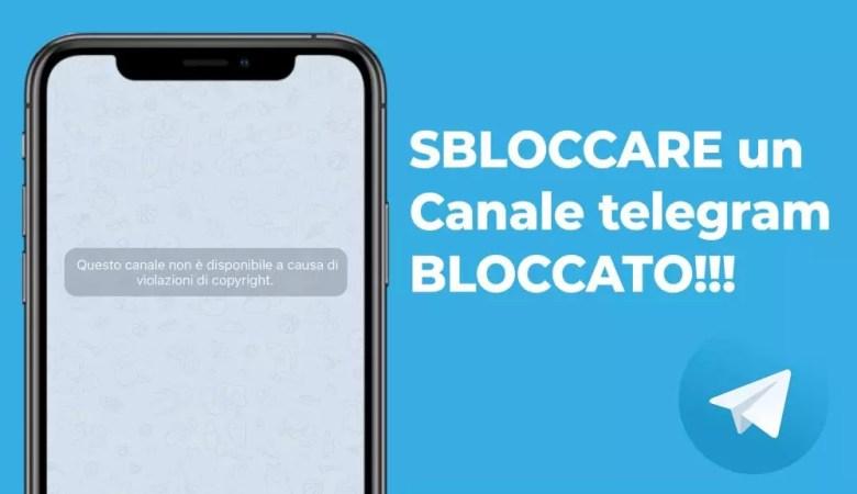 Sbloccare Canali Telegram iPhone