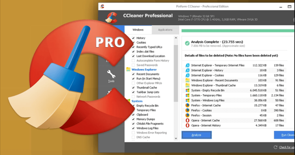CCleaner Professional GRATIS per 1 Anno webassistance