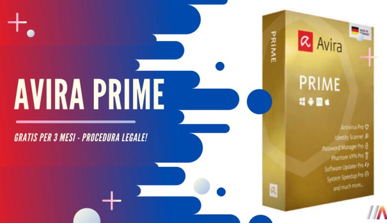 Avira Prime Gratis