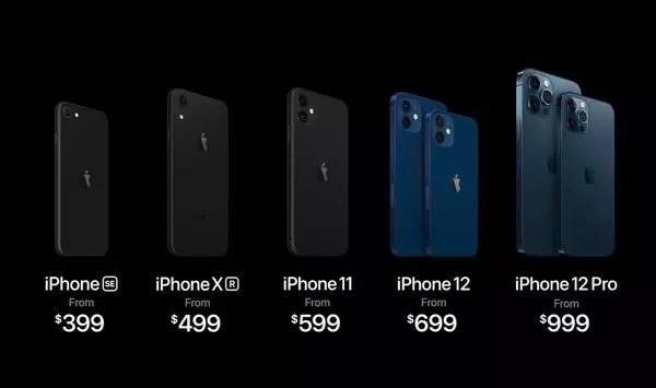 prezzi iphone 12