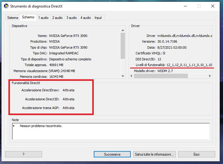 Come aggiornare le DirectX