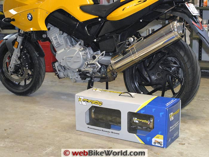 two brothers carbon fiber exhaust