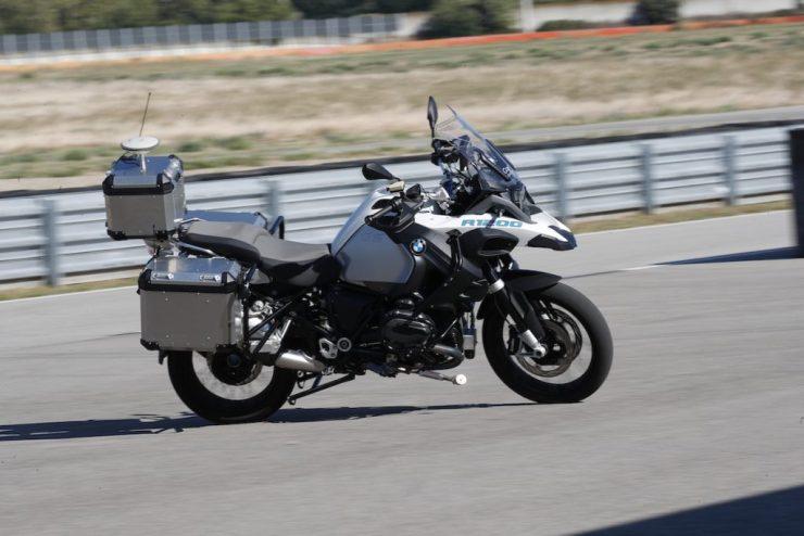 BMW autonomous R 1200 GS