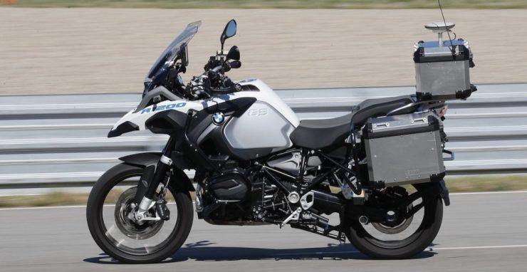 BMW autonomous R1200 GS